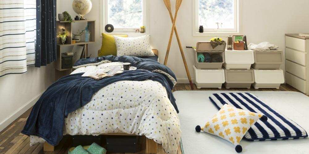 寝室収納のコツ