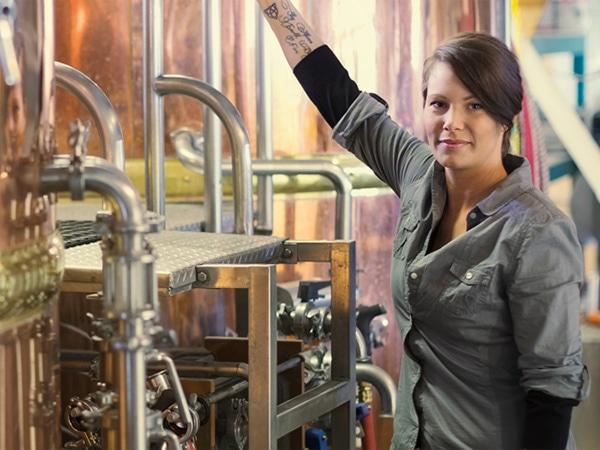 ビール造りの職人 ブラウマイスター
