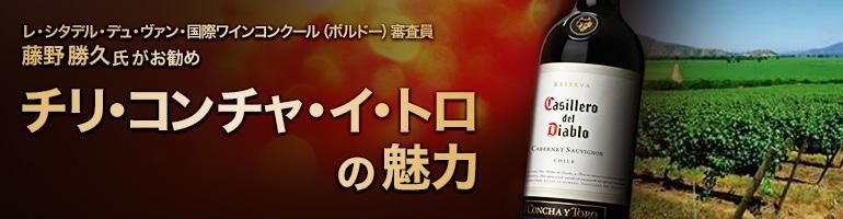 藤野勝久氏がお勧め チリ・コンチャ・イ・トロの魅力