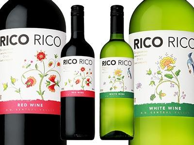 画像:今週のおすすめ - カインズ・オリジナルワイン RICORICO 赤・白
