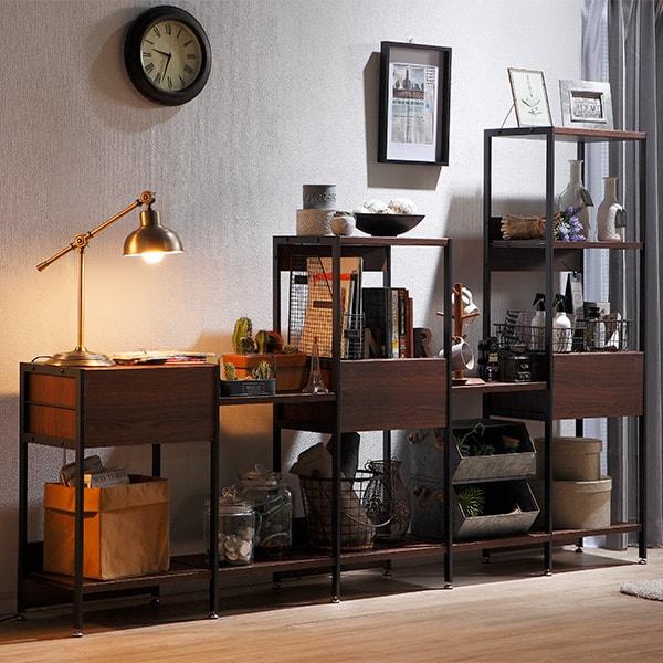 画像:組立家具 「Moderno モデルノ」シリーズ