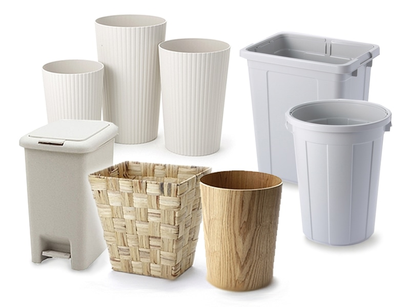 いろいろなゴミ箱