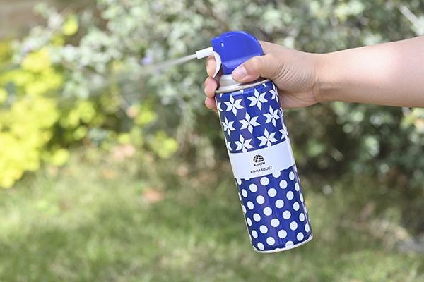 アース製薬 凍らすジェット 冷凍殺虫 デザイン缶 300ml